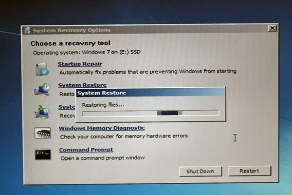 The HamsterTracker-Server needed a System Restore.