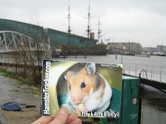 Extreme HamsterTrackin' Amsterdam, the Netherlands.