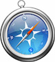 Picture of Safari browser icon.